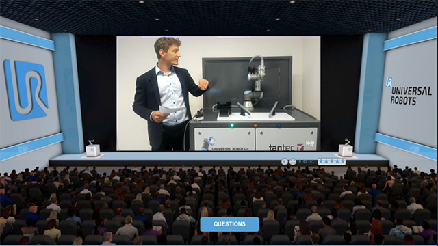 The World's Largest Virtual Collaborative Robot Expo